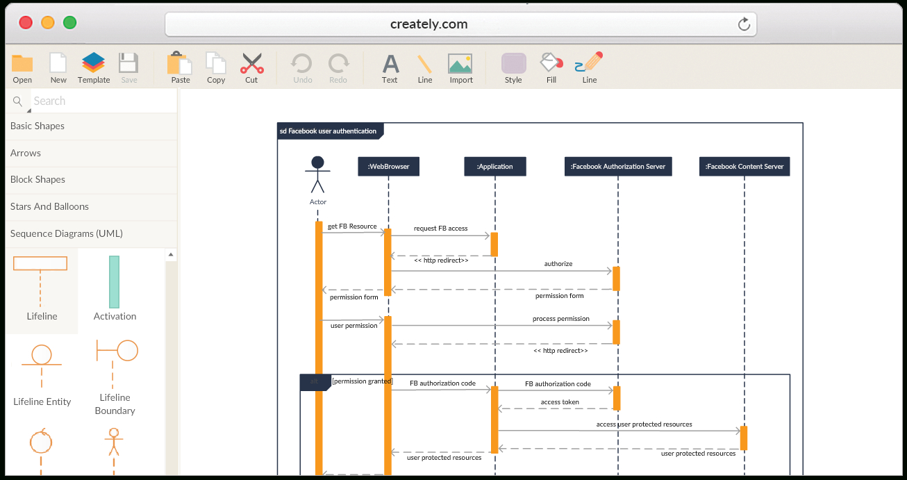 Create Sequence Diagrams Online   Sequence Diagram Tool pertaining to Er Diagram Examples Doc