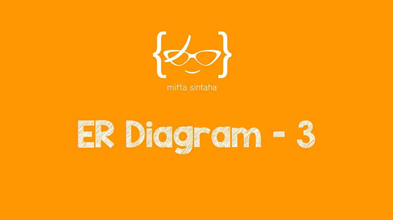 Er Diagram Example & Solution - Youtube for Examples Of Er Diagram With Solution