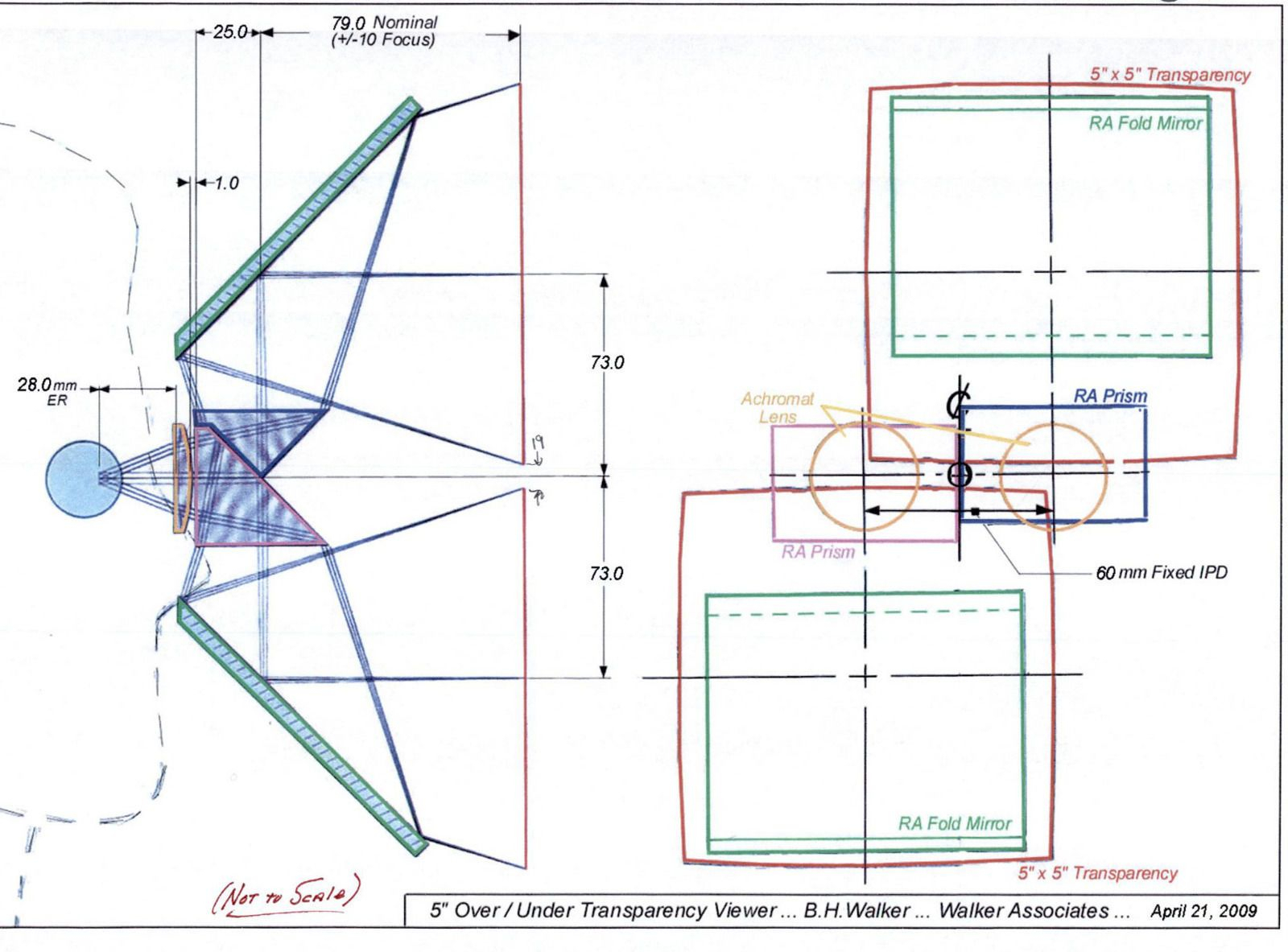 """3D Optical Stereo Viewer 5"""" Over / Under - Museum Quality throughout Er Diagram Ebay"""