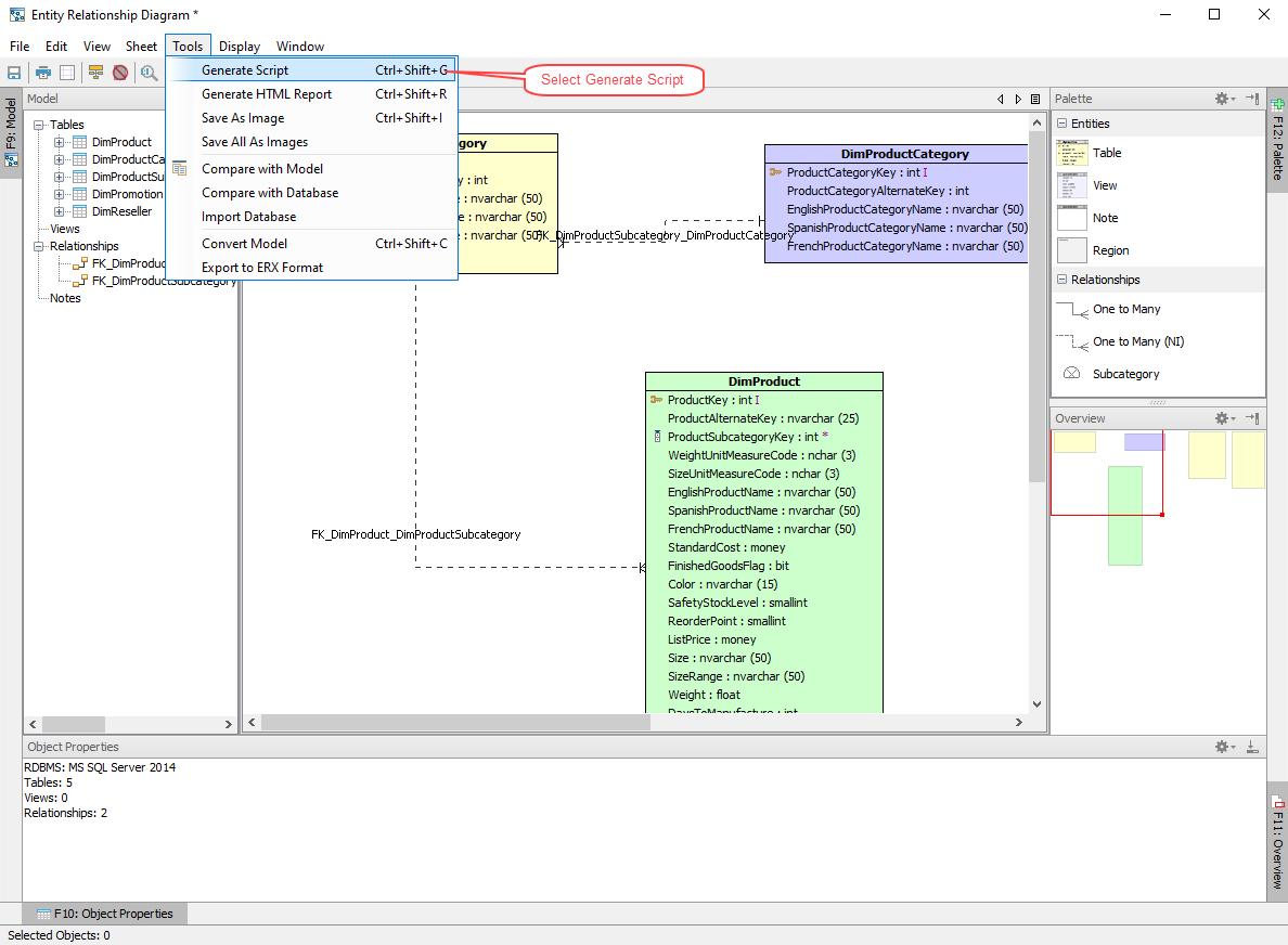 Aqua Data Studio | Universal Database Ide in Er Diagram Visual Studio 2013