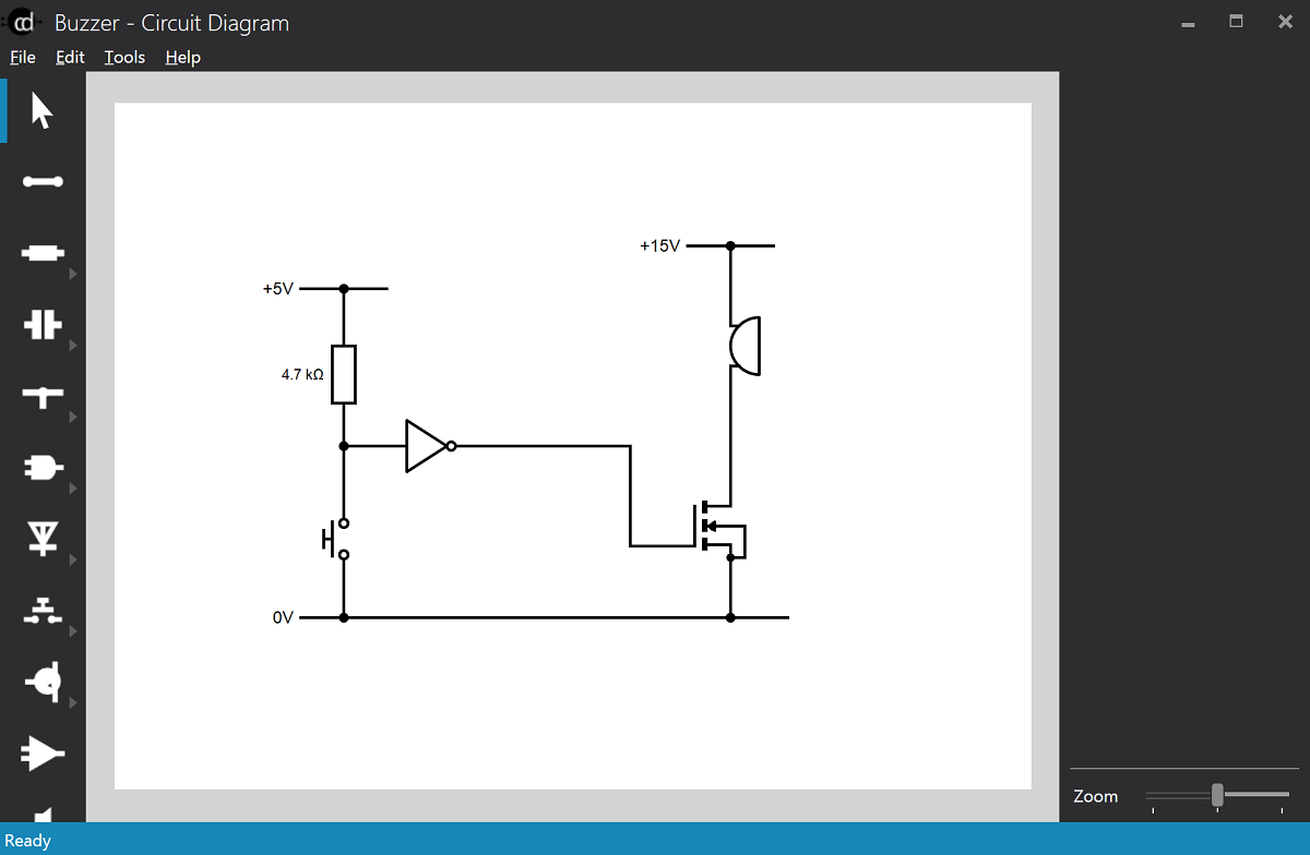 Circuit Diagram - A Circuit Diagram Maker within Draw Schema Diagram