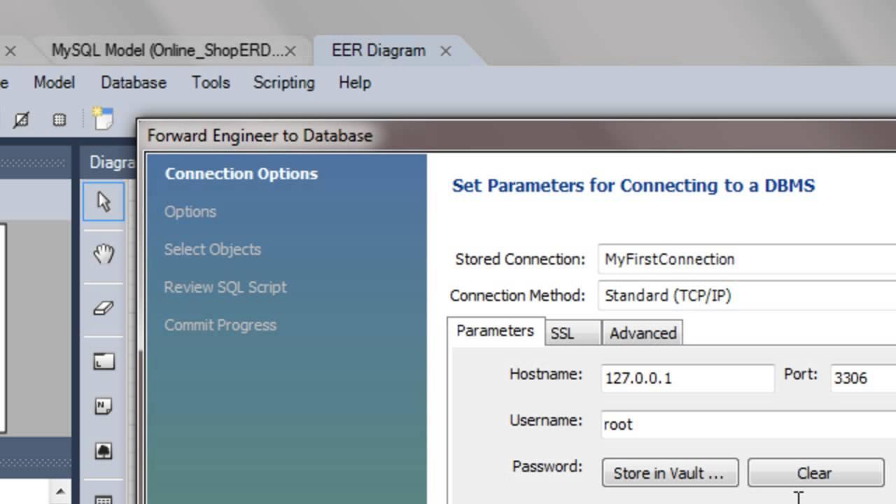 Converting Erd To Database Tables Mysql in Erd To Database