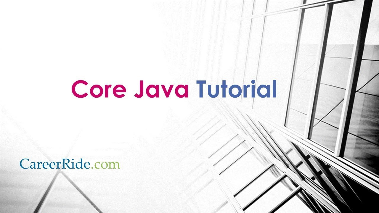 Core Java Tutorial For Beginners throughout Er Diagram Javatpoint