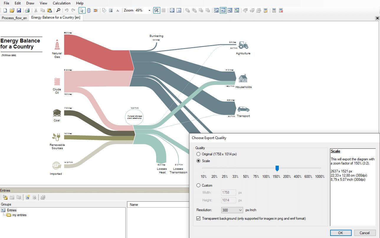 Create Sankey Diagrams With E!sankey | Ifu Hamburg Gmbh pertaining to E Diagram