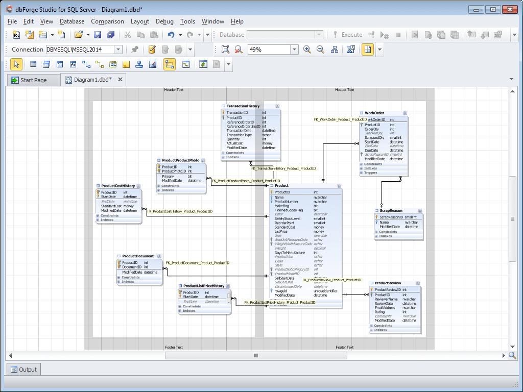 Database Diagram Tool For Sql Server pertaining to Sql Er Diagram Tool