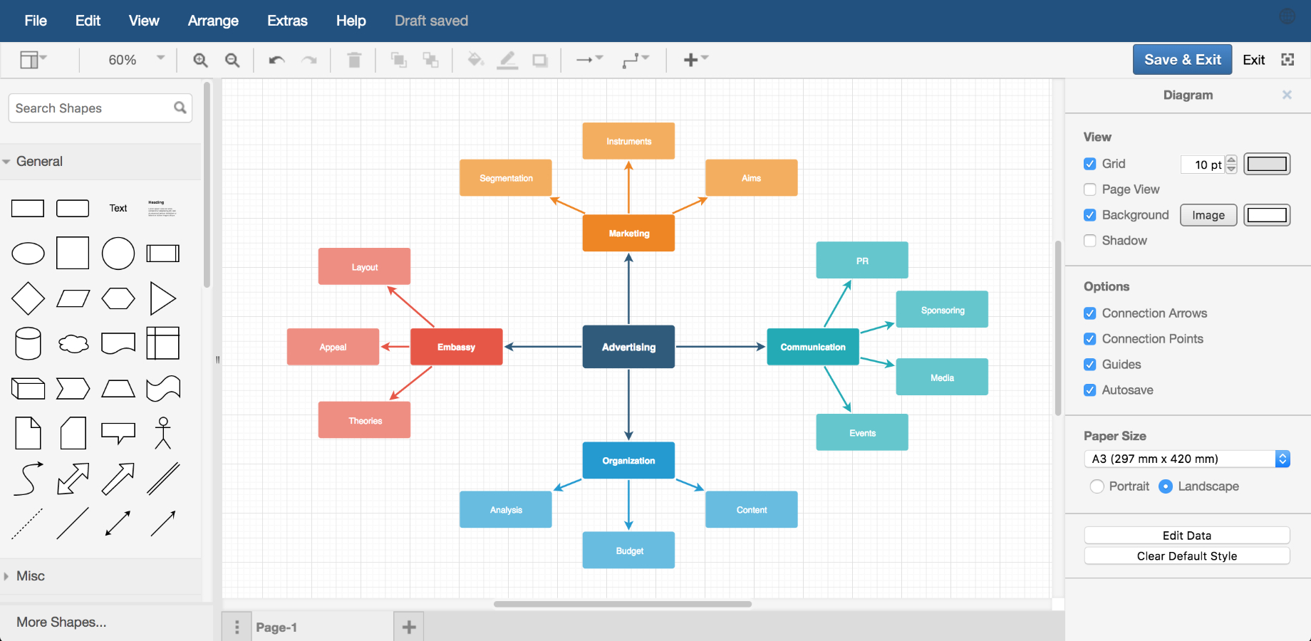 Draw.io Diagrams For Confluence | Atlassian Marketplace within Er Diagram In Draw.io