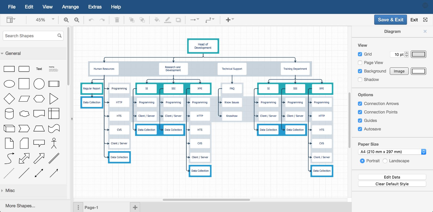 Draw.io Diagrams For Jira | Atlassian Marketplace inside Er-X Block Diagram