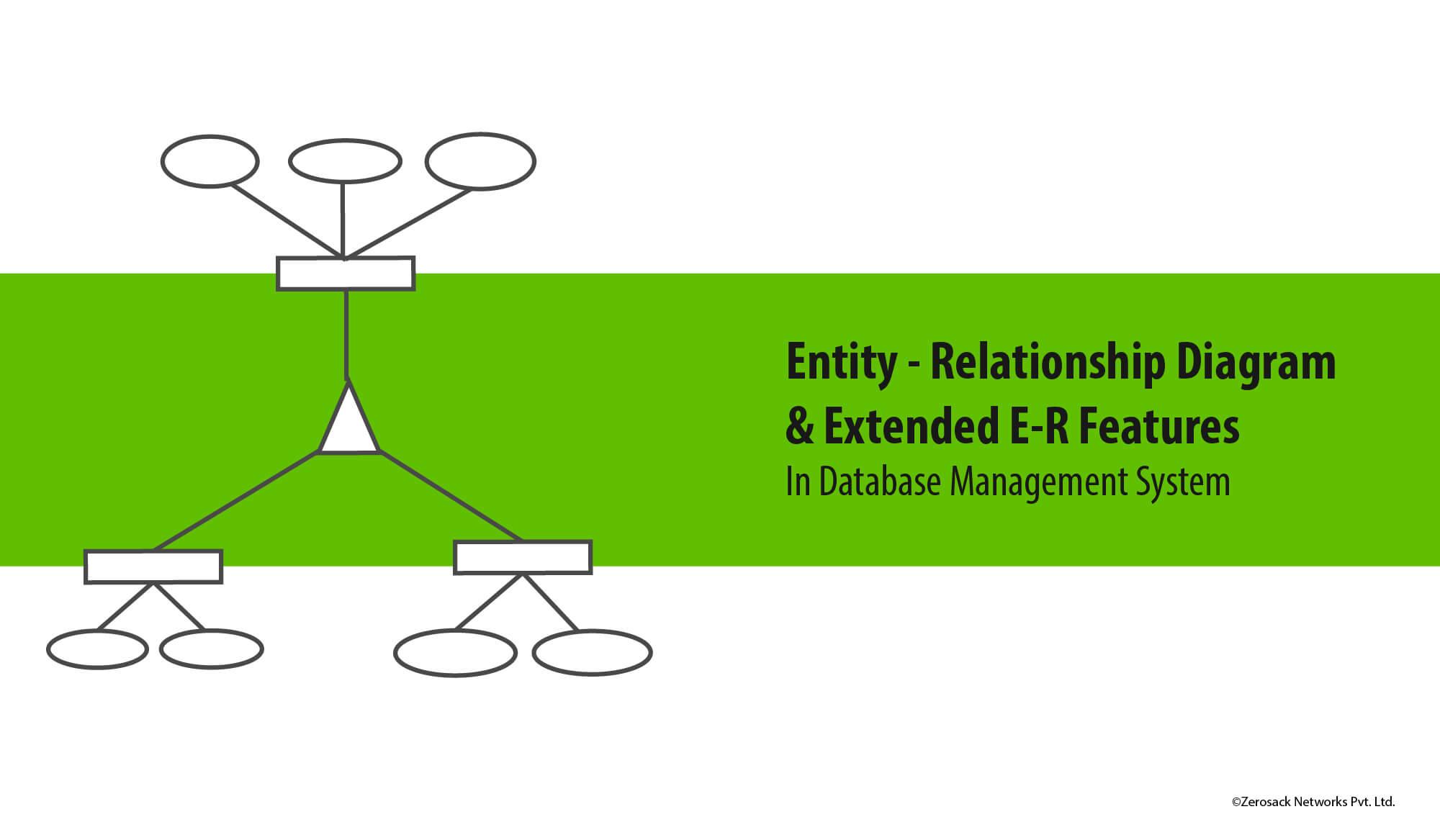 E-R Model Diagram And Extended E-R Feature In Dbms inside Er Data Model In Dbms