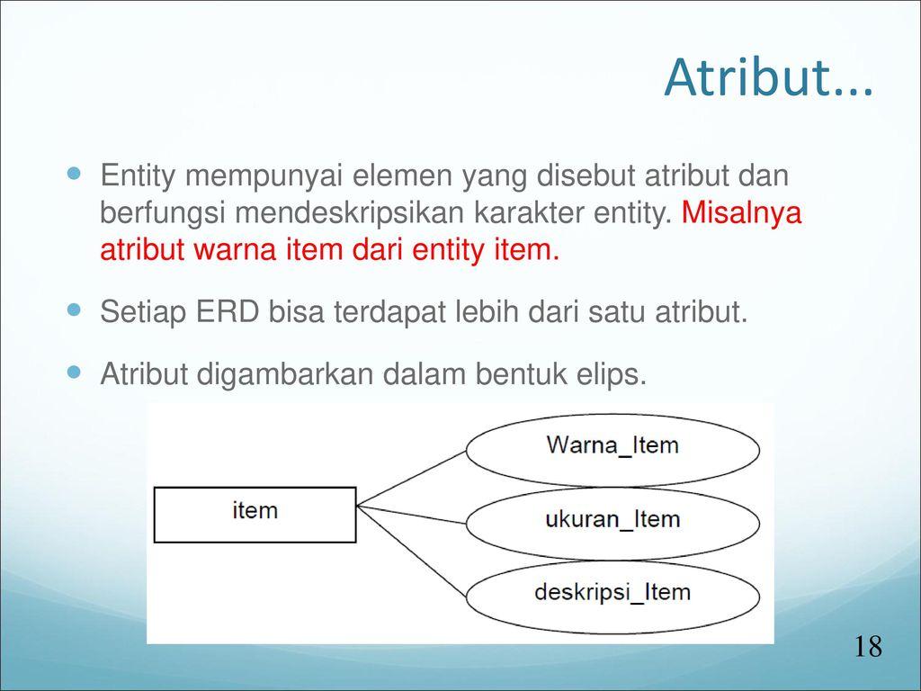 Entity Relationship Diagram - Ppt Download with Simbol Er Diagram Yang Berbentuk Elips