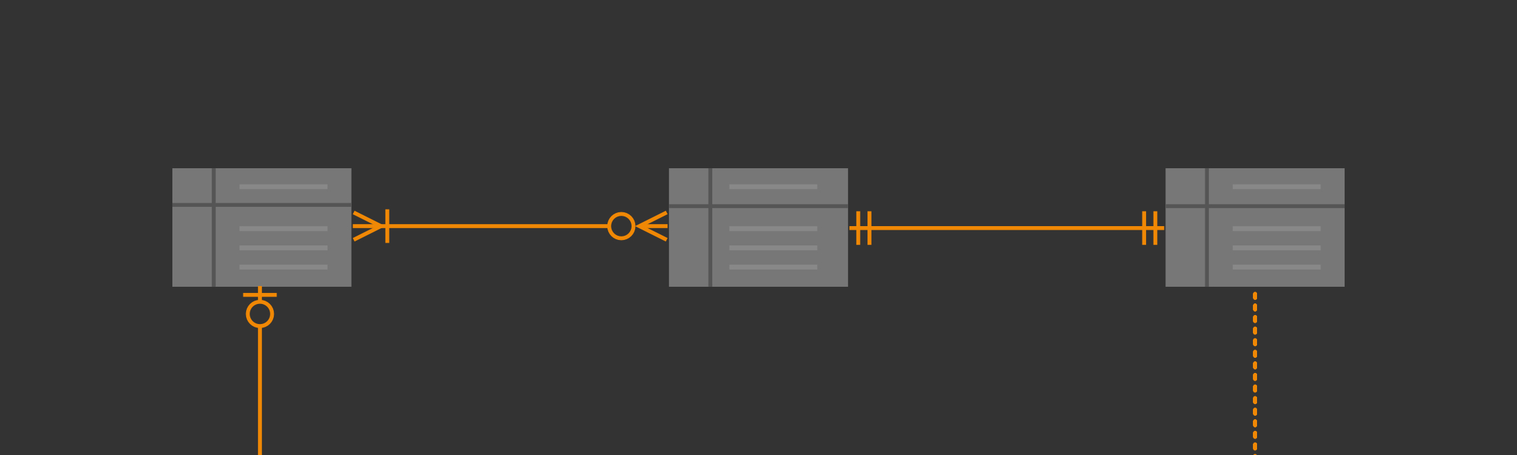 Entity Relationship Diagrams With Draw.io – Draw.io in Data Model Relationship Symbols