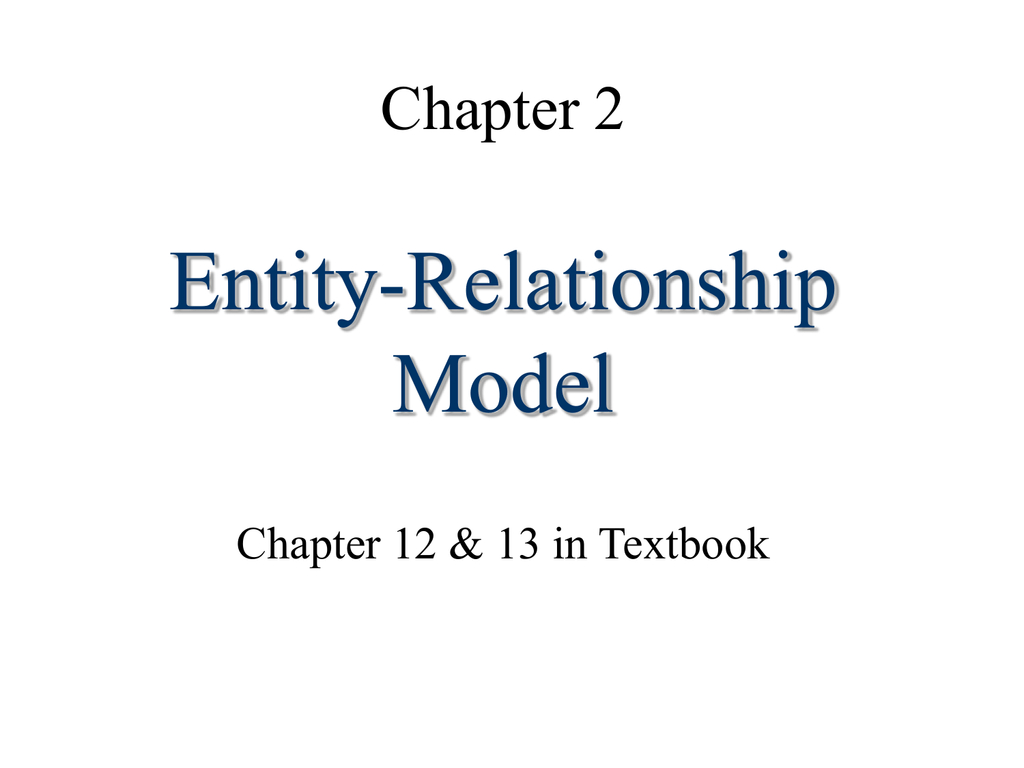 Entity-Relationship Model pertaining to Er Diagram Superclass Subclass