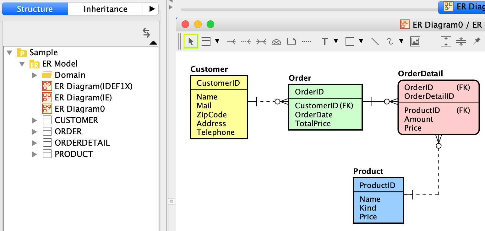 Er Diagram (Entity-Relatonship Diagram)   Astah User's Guide intended for Er Diagram With Foreign Key
