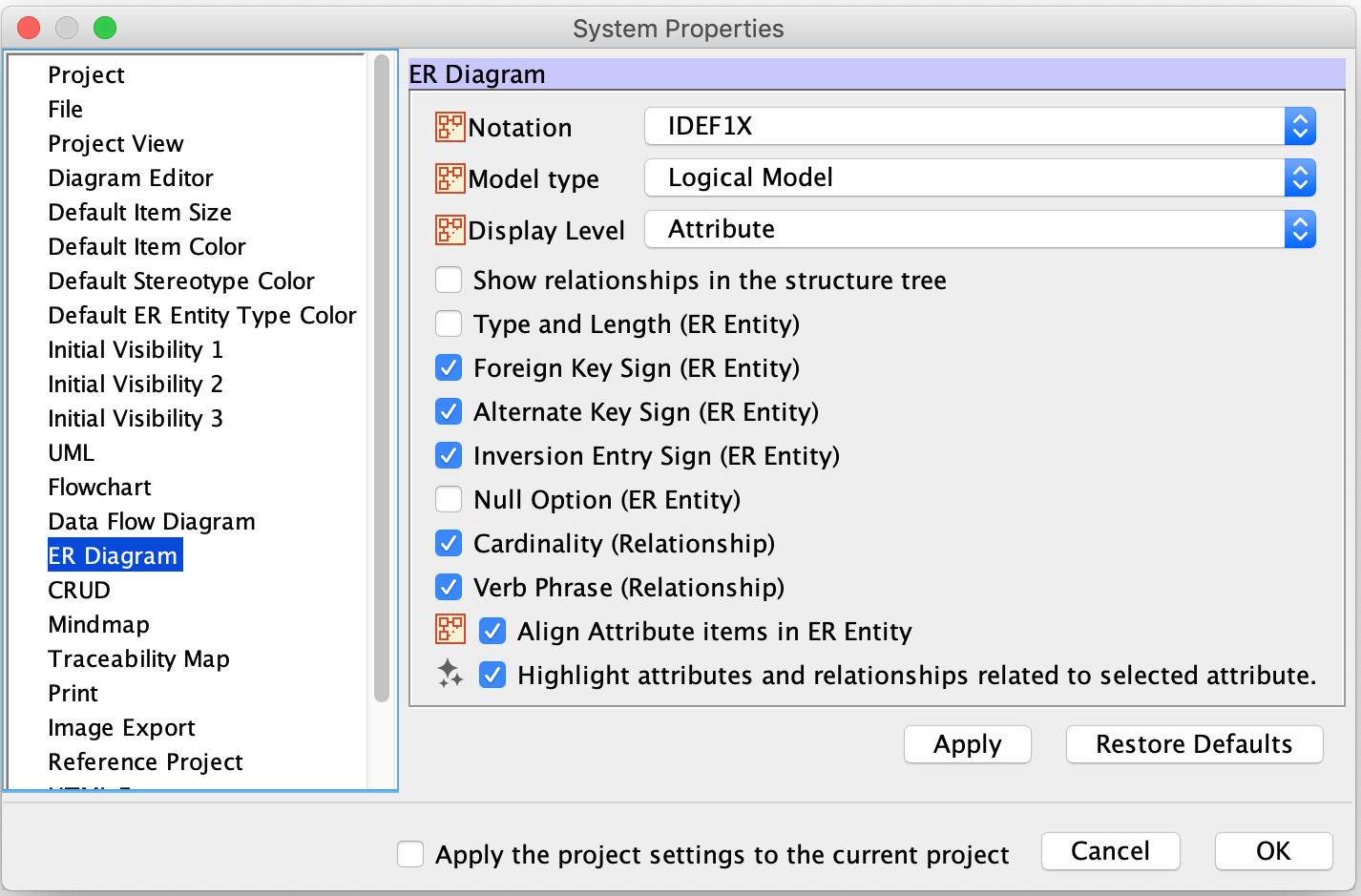 Er Diagram (Entity-Relatonship Diagram) | Astah User's Guide within Er Diagram Key