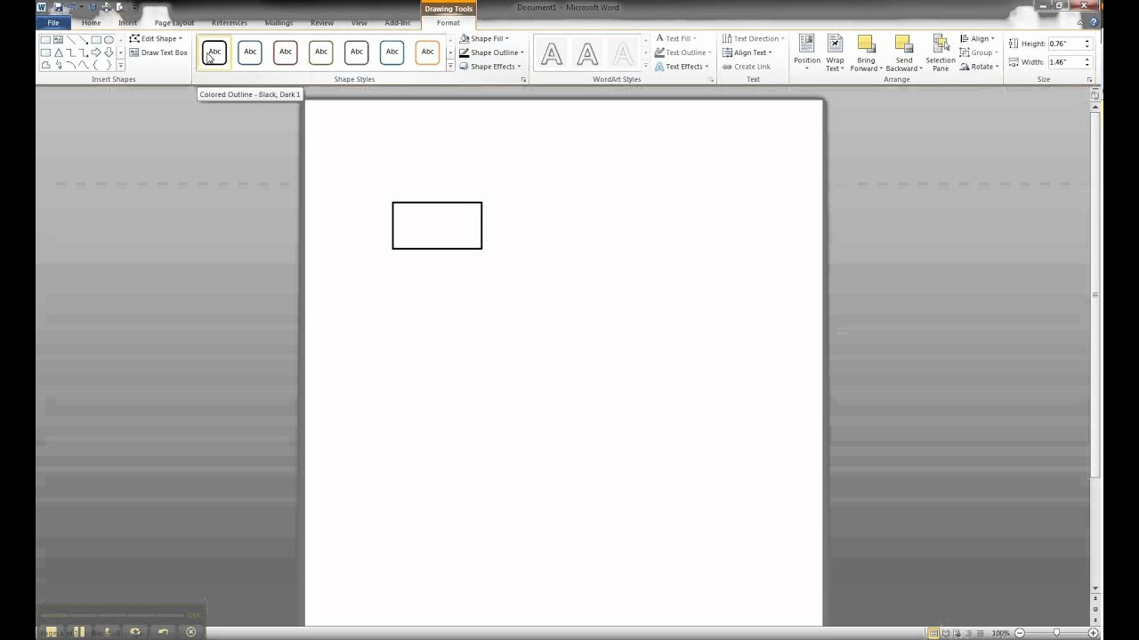 Er Diagram In Ms Word Part 1 - Creating A Strong Entity inside Er Diagram In Word