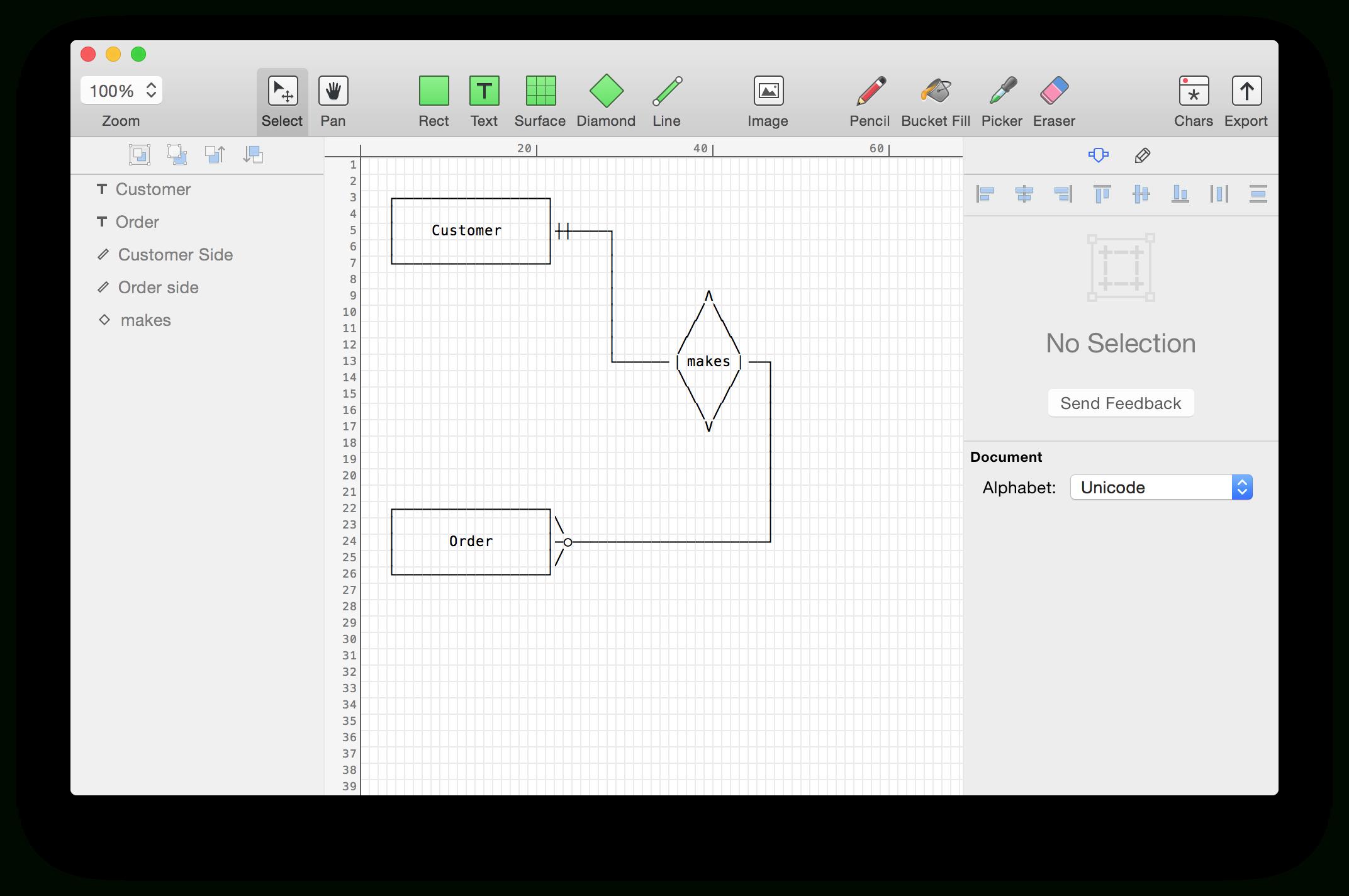 Er Diagram Maker Free - Schematics Online throughout Er Diagram Free