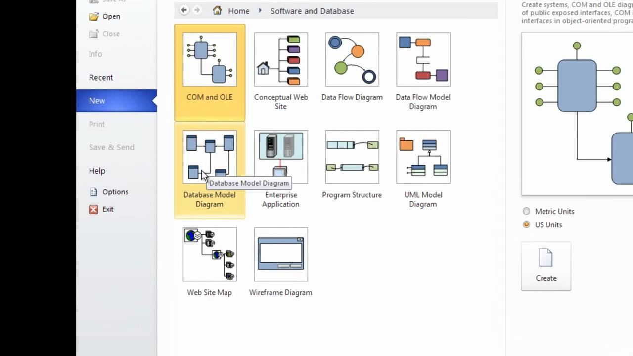 Er Diagram Using Ms Visio 10 Part_1 pertaining to Er Diagram With Visio