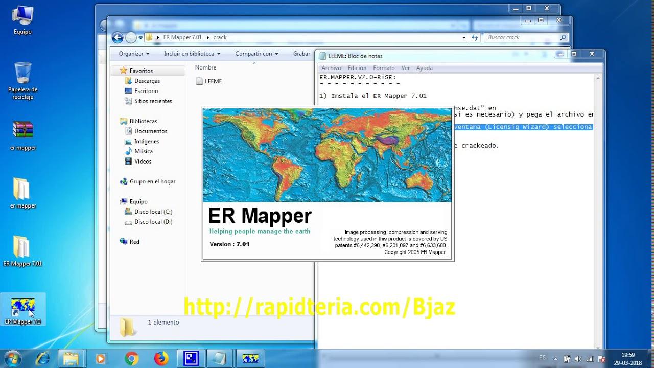 Er Mapper 7.01 for Er Mapper