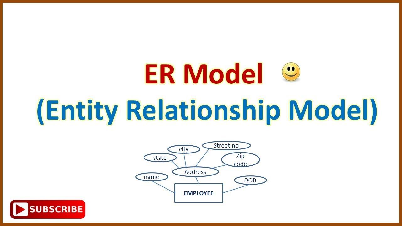 Er Model In Hindi (Simple & Easy Explain) - Youtube in Er Diagram Kya Hai