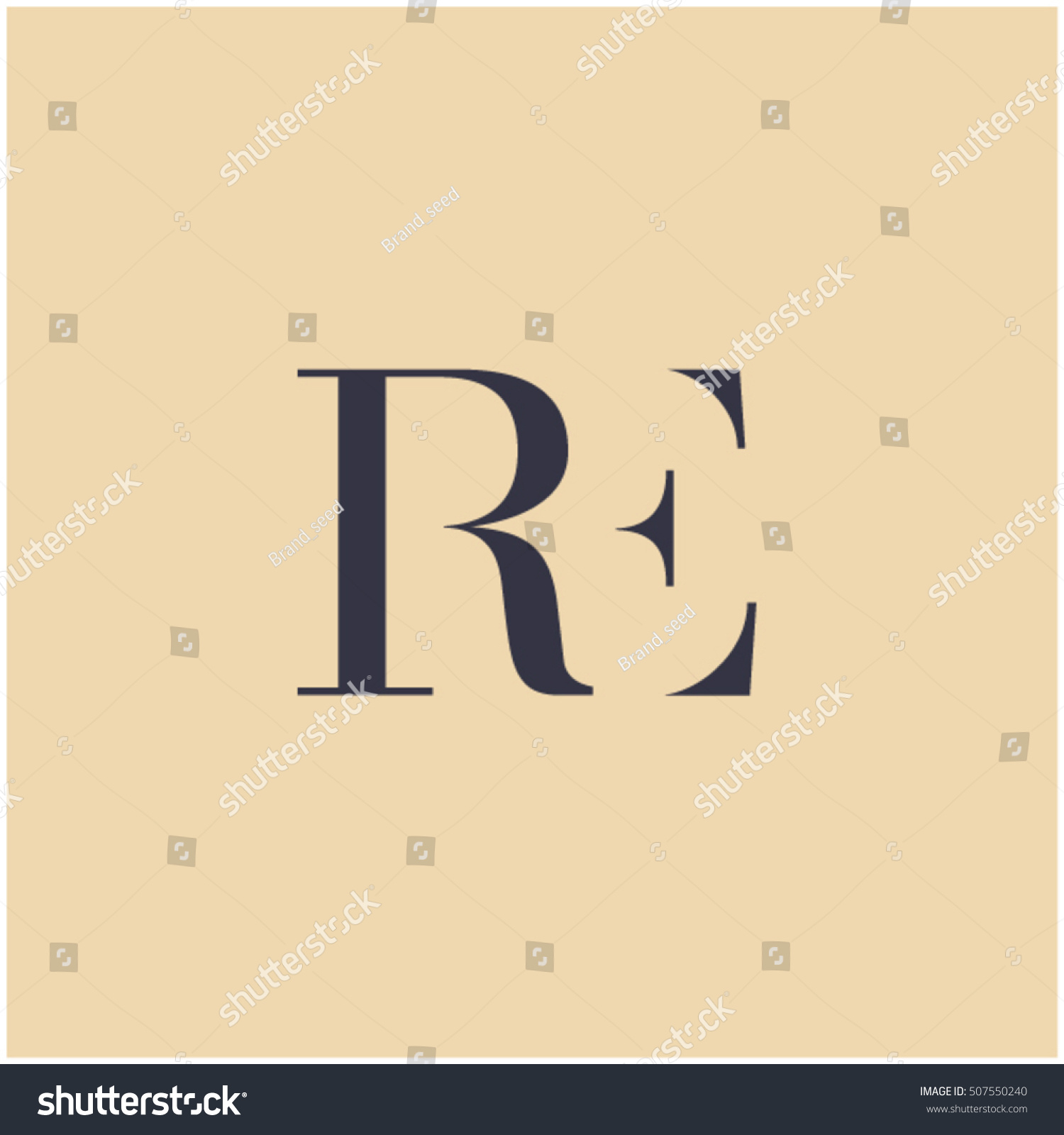 Er Symbol Er Letter E Letter Stock Vector (Royalty Free with regard to Er Symbol