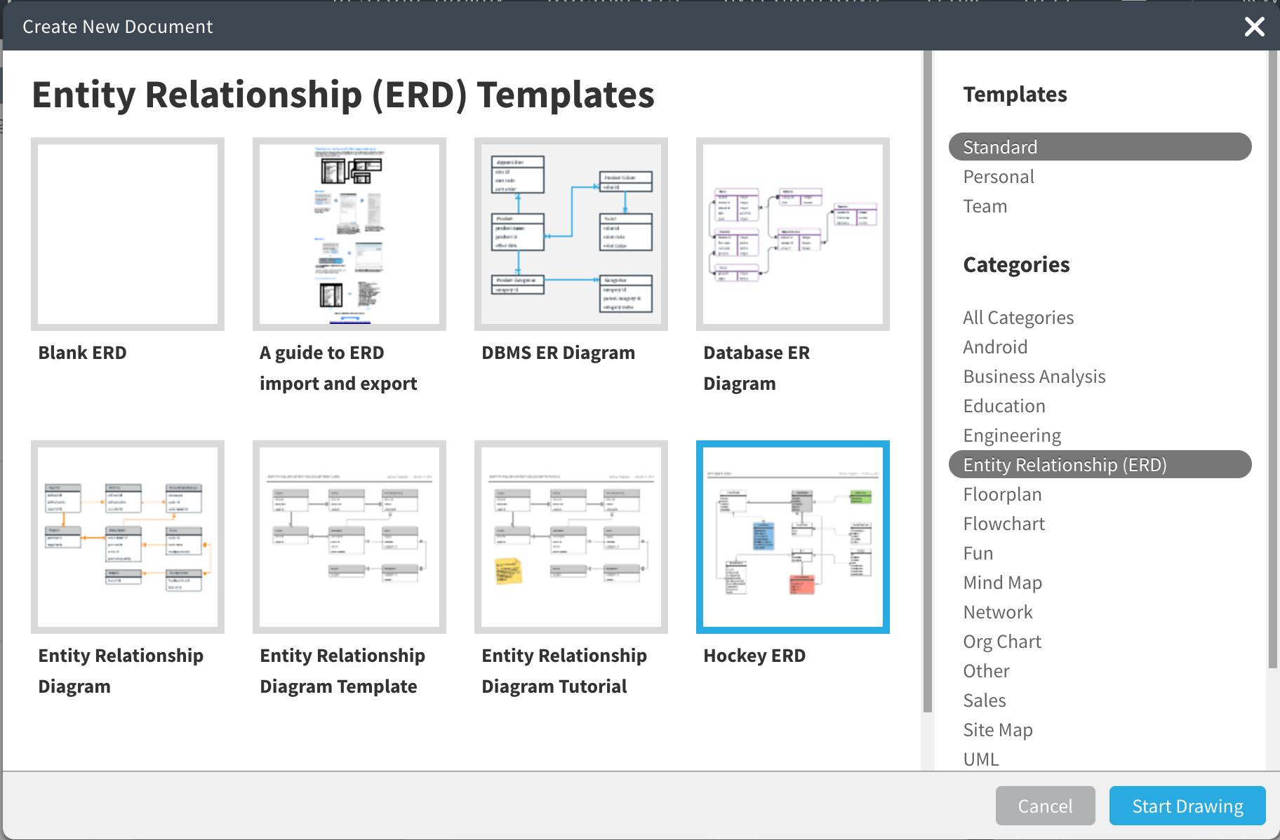 Erd Crm Project Template For A University W – Lucidchart regarding Er Diagram Visio Template