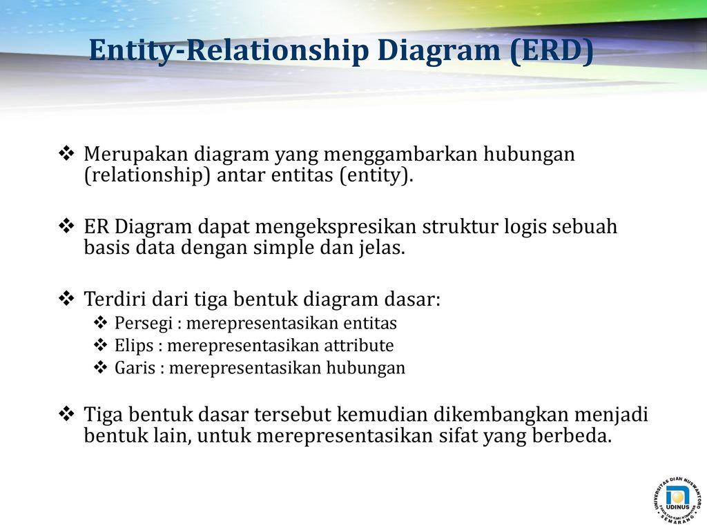 Erika Devi, Fajar A. Nugroho Fakultas Ilmu Komputer Udinus with regard to Simbol Er Diagram Yang Berbentuk Elips