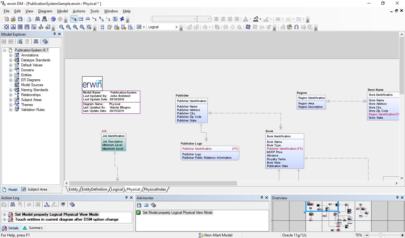 Erwin Data Modeler - Wikipedia with Er Diagram Visual Studio 2013