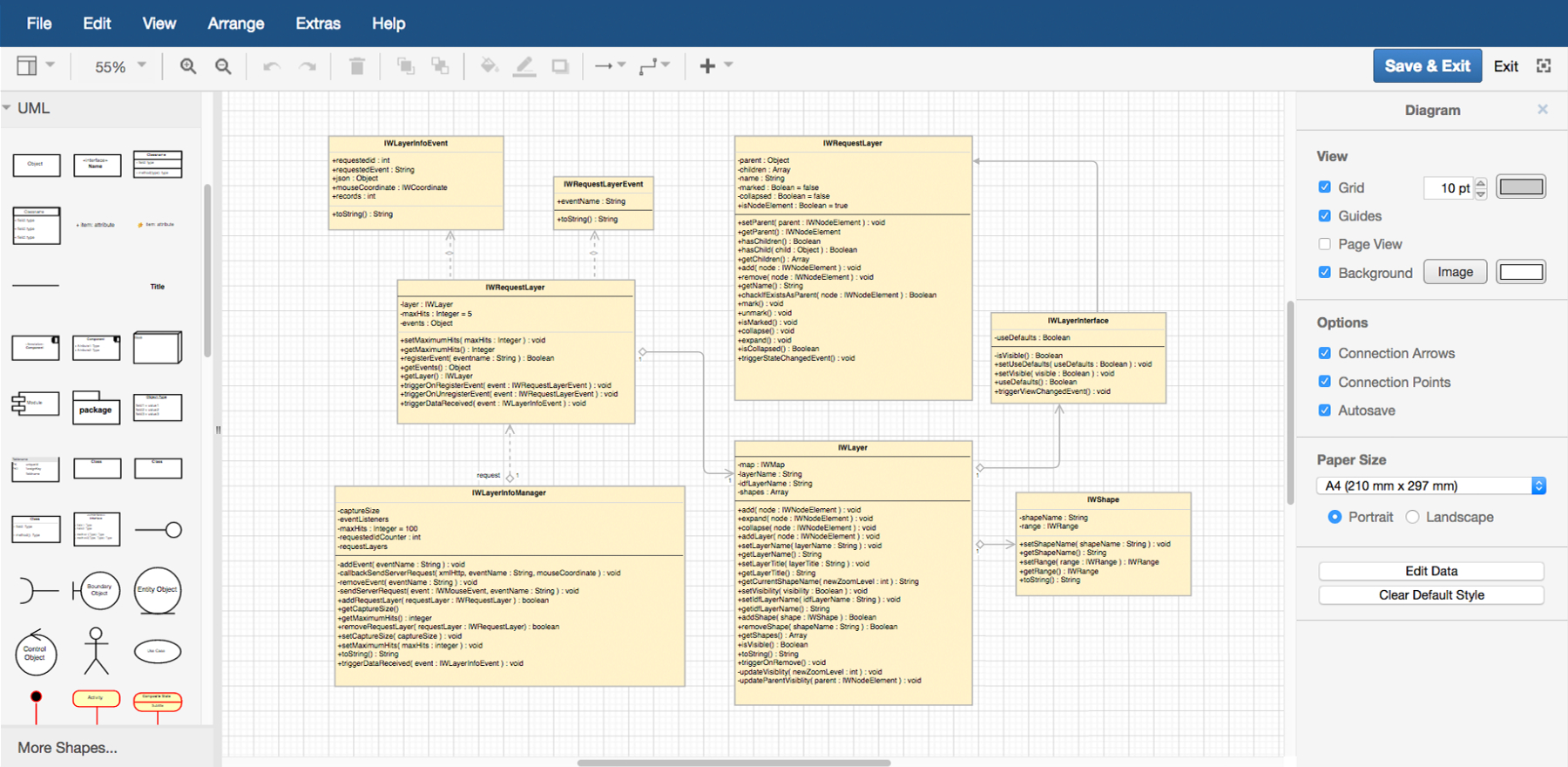 Features – Draw.io intended for Er Diagram In Draw.io