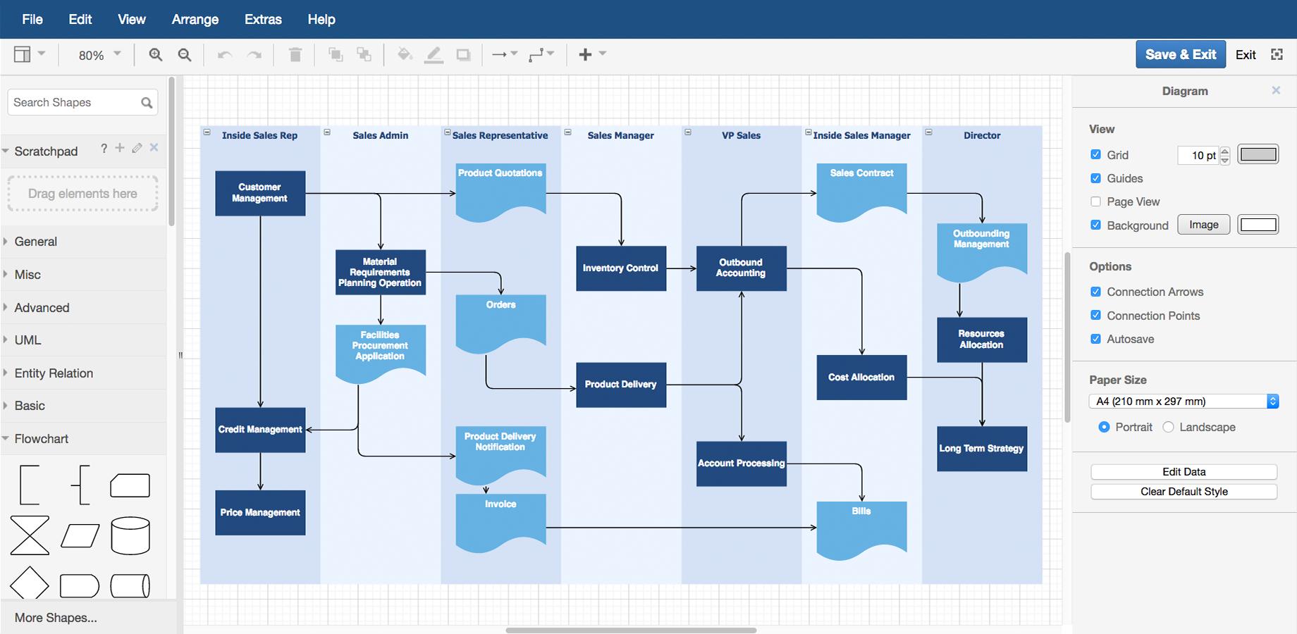 Features – Draw.io pertaining to Er Diagram In Draw.io