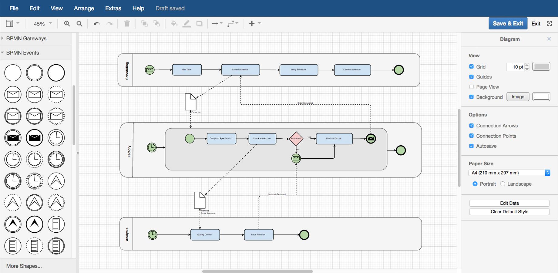 Features – Draw.io throughout Er Diagram Draw.io