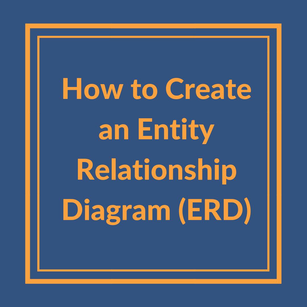 How To Create An Entity Relationship Diagram (Erd) regarding A/l Ict Er Diagram