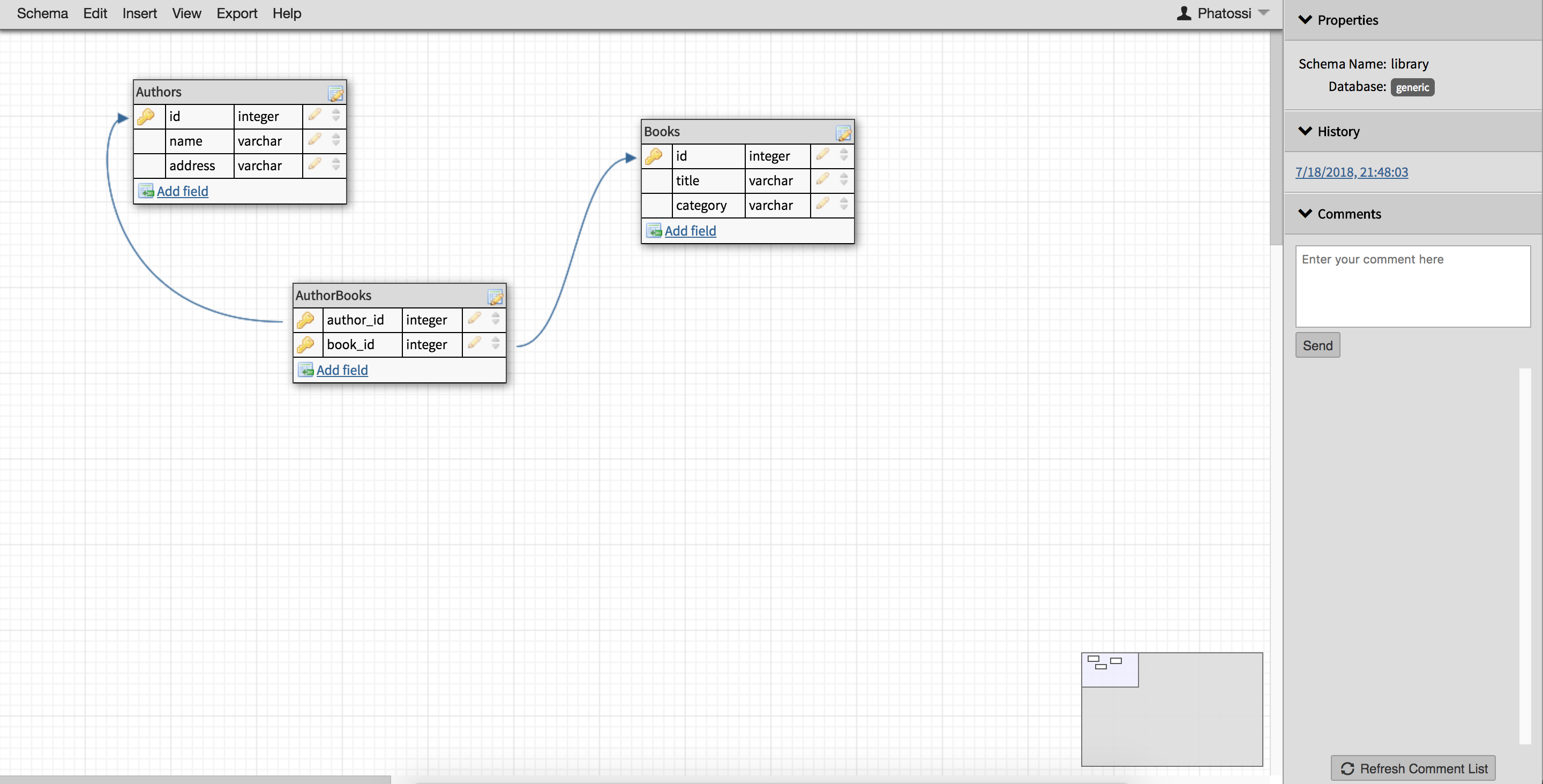 How To Create Database Schemas Quickly And Intuitively With inside Create Database Schema Diagram