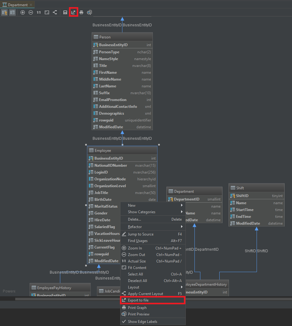 How To Create Er Diagram For Existing Database With Datagrip throughout Er Diagram Datagrip