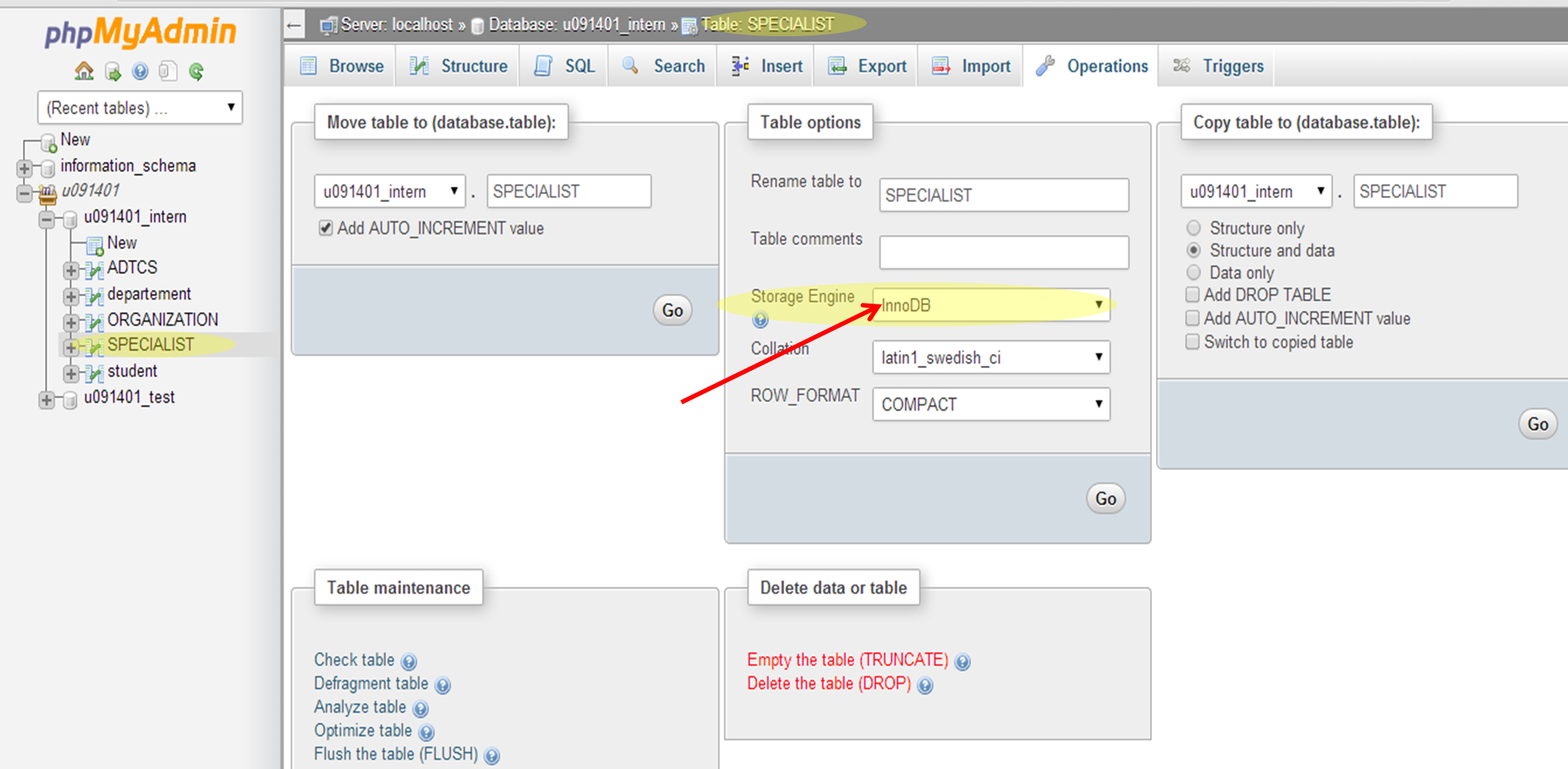 How To Enable Relation View In Phpmyadmin - Stack Overflow with Er Diagram Phpmyadmin