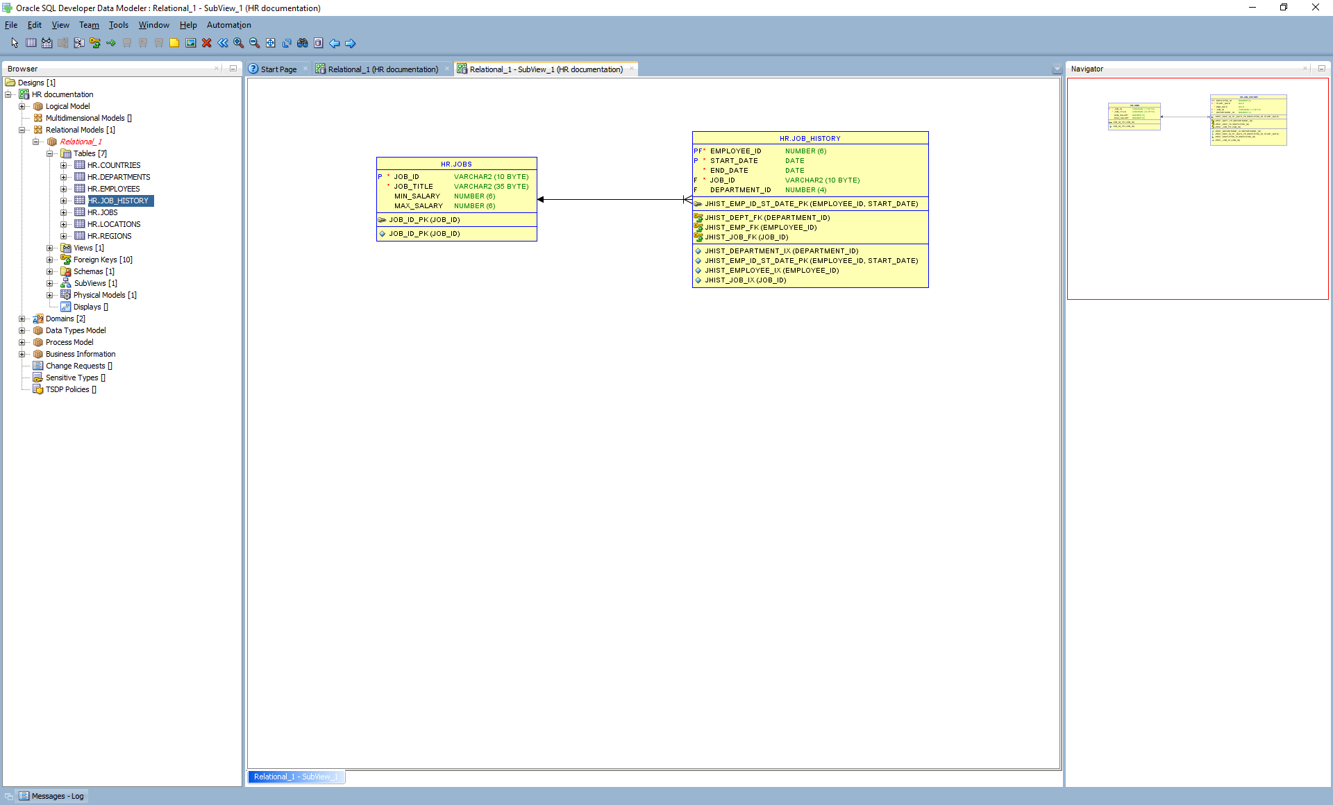 How To Generate Database Documentation With Oracle Sql intended for Sql Developer 4 Er Diagram