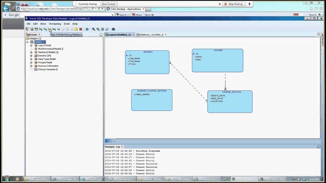 Introduction To Sql Developer Data Modeler regarding Er Diagram In Sql Developer 1.5.5