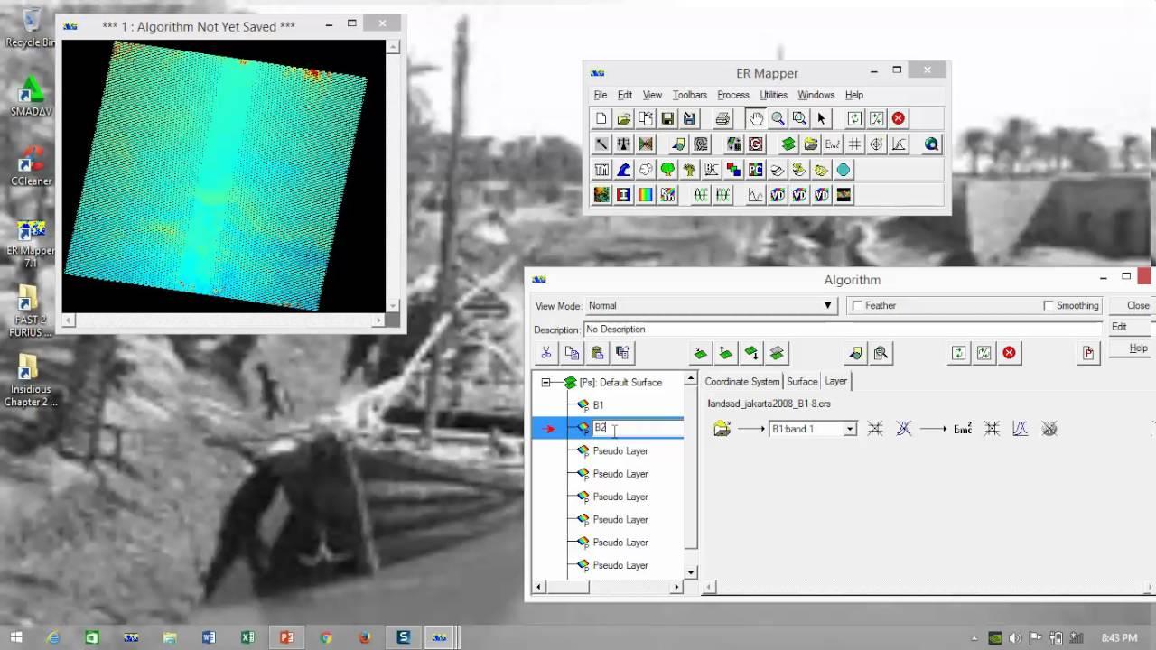 Koreksi Radiometrik - Er Mapper for Er Mapper
