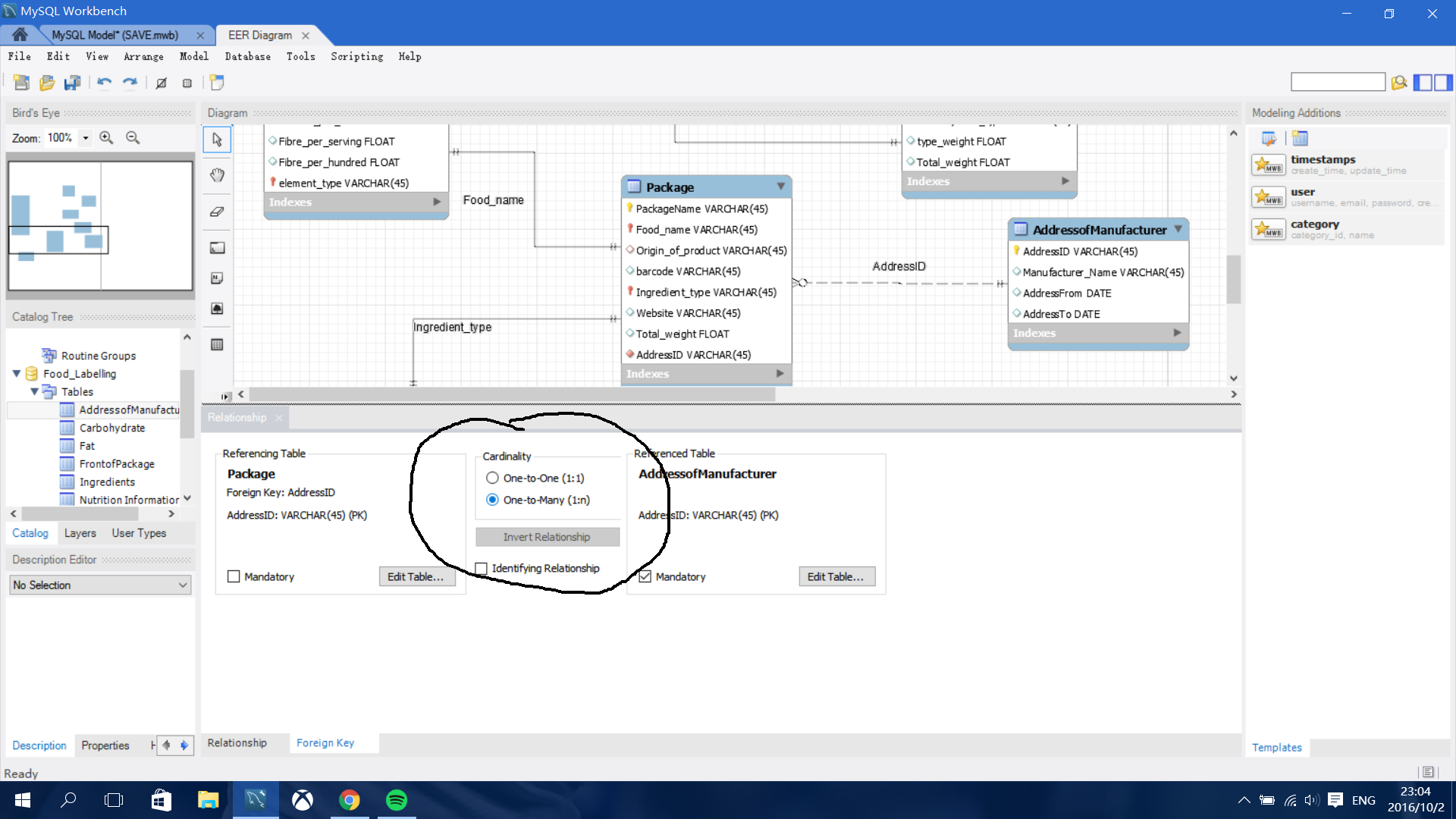 My Sql Workbench Creating Many To Many Relationship In Eer throughout One To Many Relationship Diagram