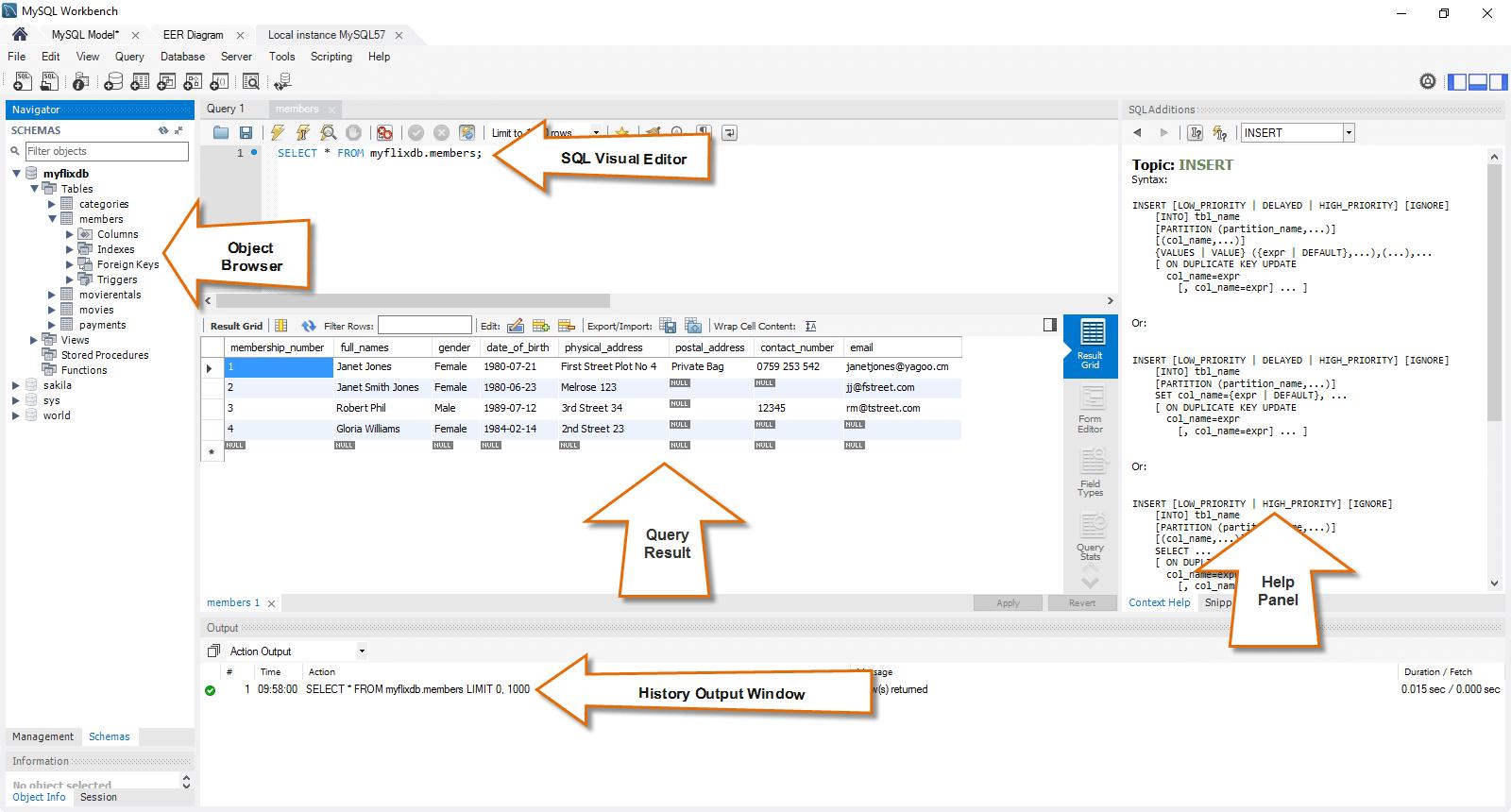 Mysql Workbench Tutorial & Mysql Introduction inside Er Diagram Guru99