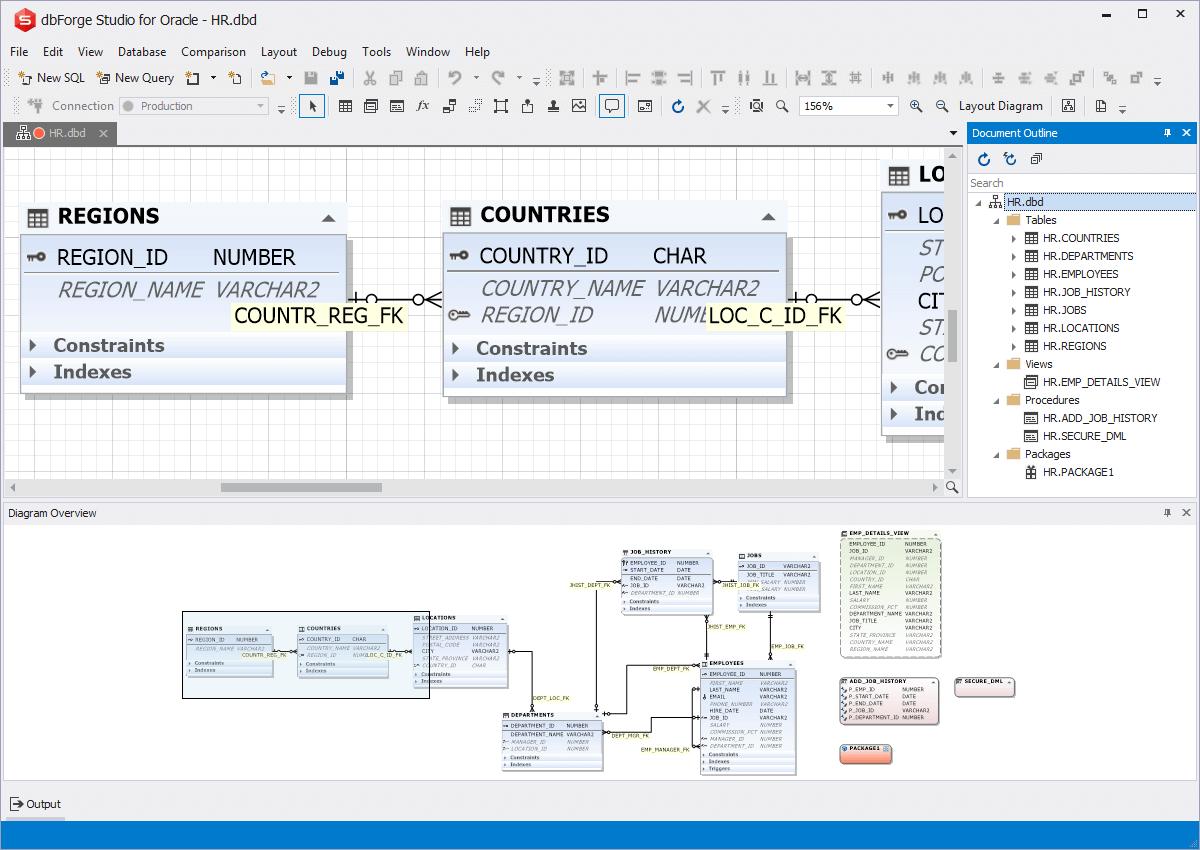 Oracle Designer - Entity Relationship Diagram Tool For Oracle throughout Er Diagram Visual Studio