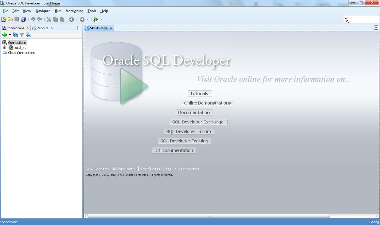 Oracle Sql Developer – Wikipédia in Er Diagram In Sql Developer 1.5.5