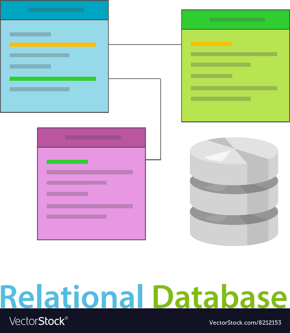 Relational Database Data Table Related Symbol intended for Relational Database Symbols