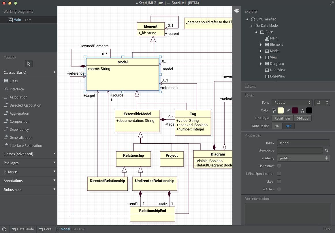 Release | Staruml | Page 3 pertaining to Er Diagram Using Staruml