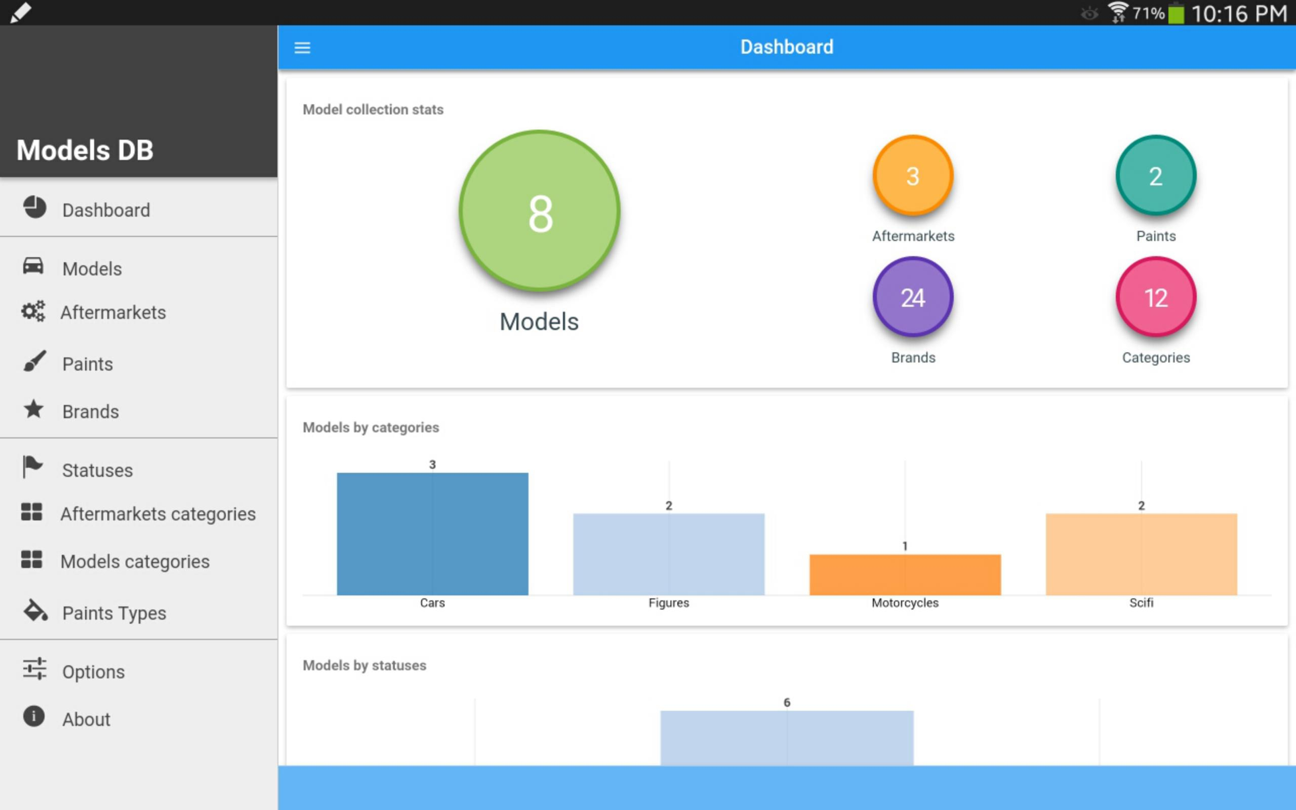 Scale Models Db Demo For Android - Apk Download intended for Db Models