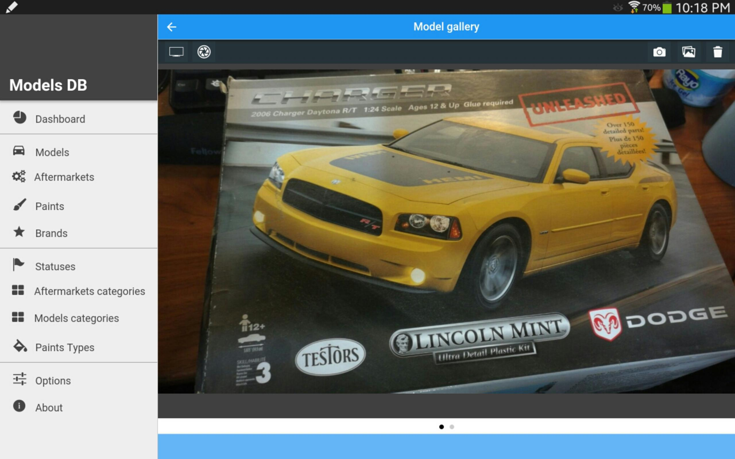 Scale Models Db Demo For Android - Apk Download within Db Models