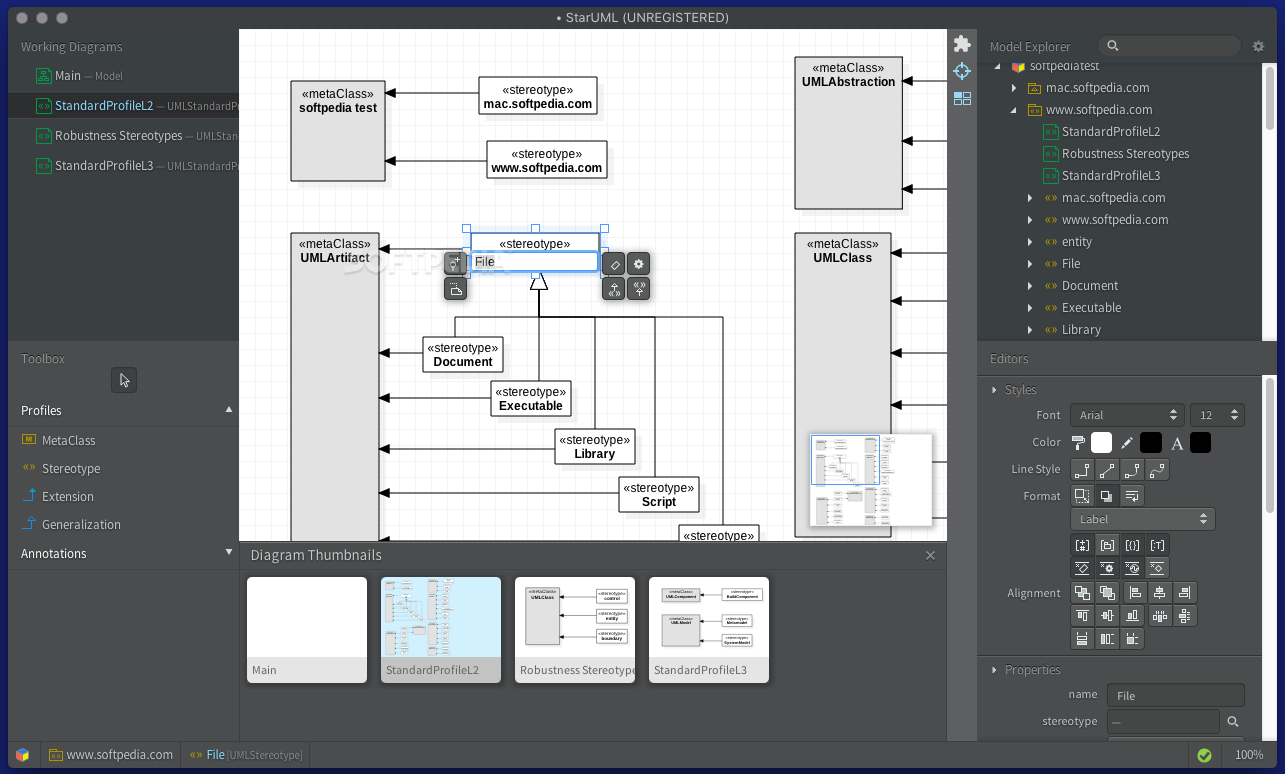 Staruml Mac 3.1.0 - Download regarding Er Diagram Using Staruml