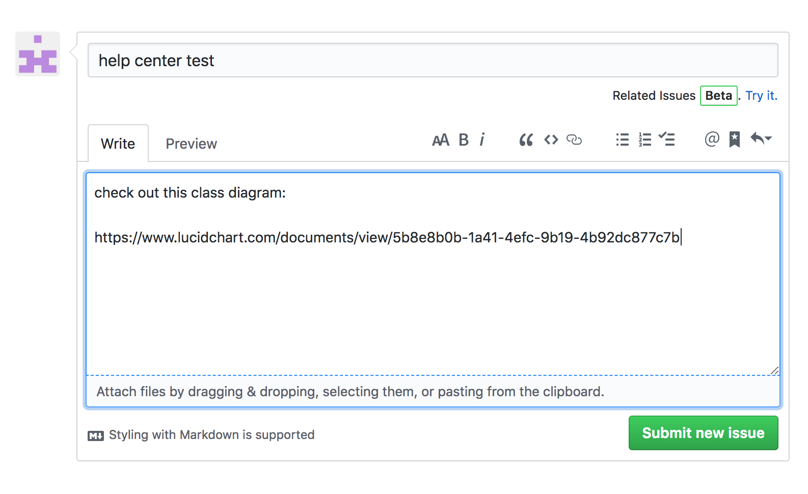 The Lucidchart Connector For Github – Lucidchart in Er Diagram Github