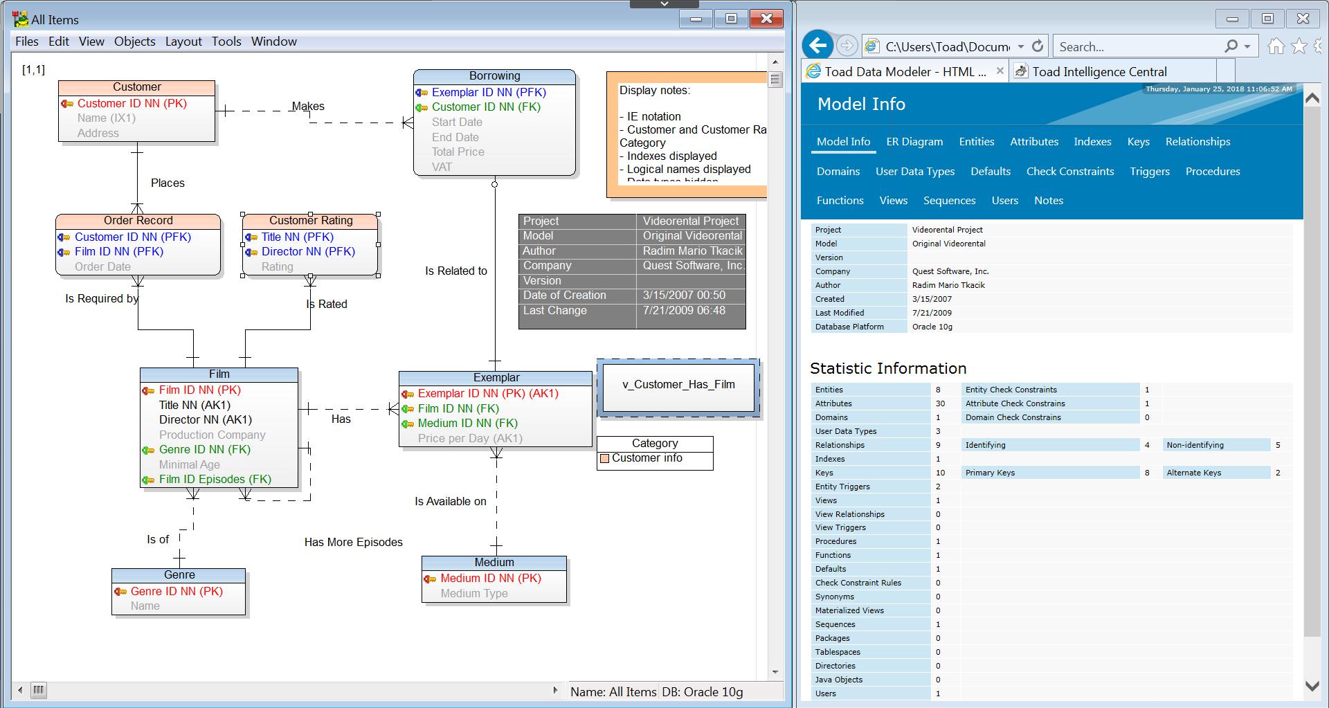 Toad Data Modeler for Er Diagram Toad