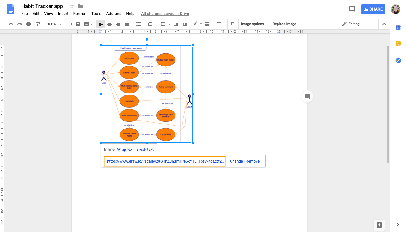 Use Draw.io Diagrams In Google Docs – Draw.io intended for Er Diagram Google Docs