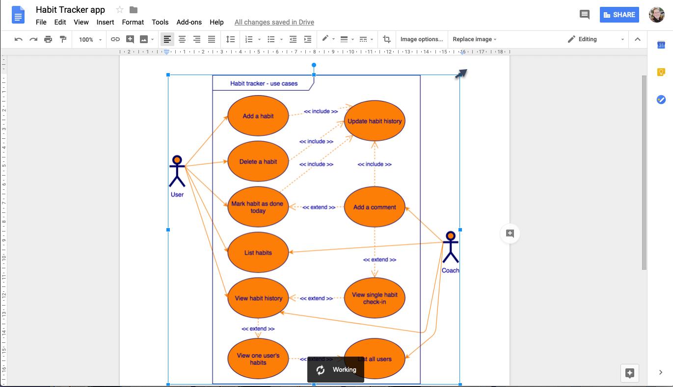 Use Draw.io Diagrams In Google Docs – Draw.io with regard to Er Diagram Google Docs