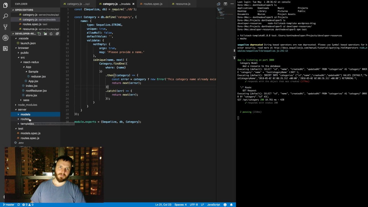Writing Unit Tests For Our Database Models With Mocha & Chai intended for Db Models